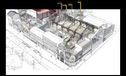 Plan de coupe Elysée Montmartre